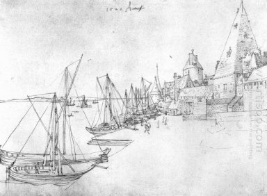 the port of antwerp during scheldetor 1520
