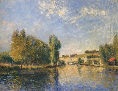the loing at moret 1883