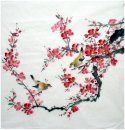 Plum-Birds - la pintura china