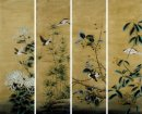 Birds & Flower - Pintura Chinesa