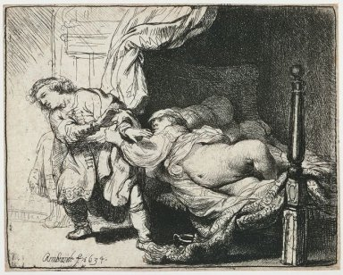 Joseph and Potiphar\'s Wife 1634