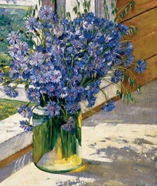Cornflowers In A Ray Of Sunshine 1930