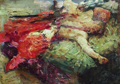 Sleeping Cossack 1914