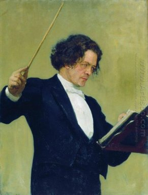 Portrait Of The Composer Anton Rubinstein 1887 2