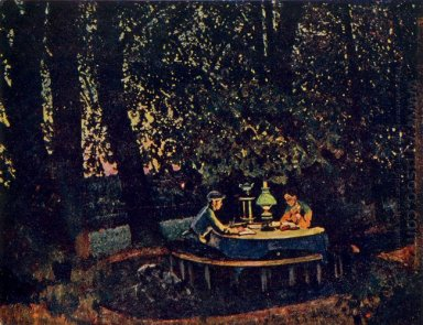 The August Evening Ligachevo 1922