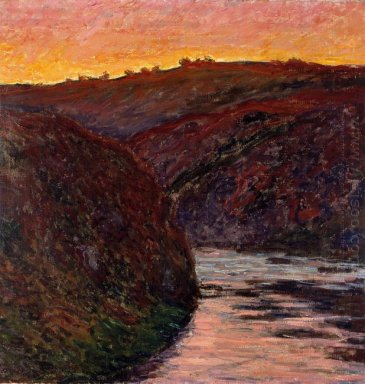 Valley Of The Creuse Sunset