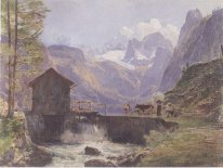Hoher Dachstein From Lower Gosau 1838
