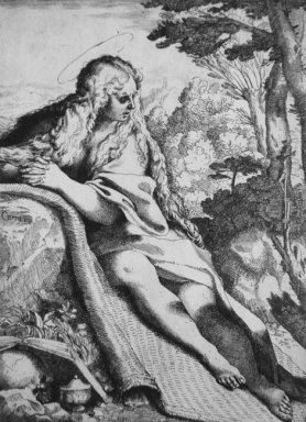 st magdalene in the desert 1591