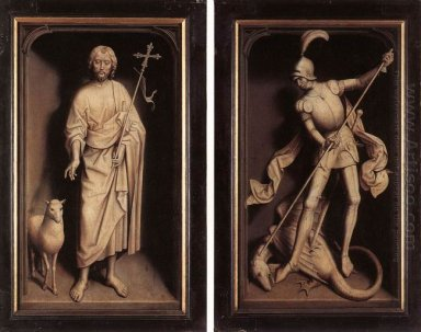 Triptych Of The Family Moreel Closed 1484