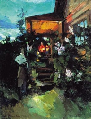 Summer Evening On The Porch 1922
