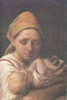 A Peasant Woman with a Child