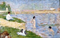 Study For Bathers At Asnieres 1883