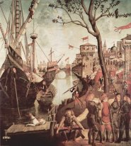 Arrival Of St Ursula During The Siege Of Cologne 1498