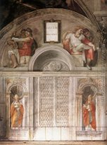 Lunette and Popes, Sistine Chapel
