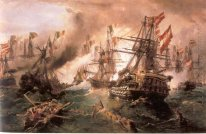 Naval battle at Lissa