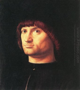 portrait of a man the condottiero 1475