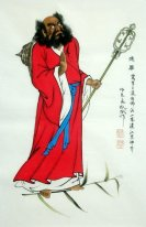Damo - Chinese Painting