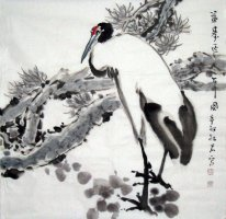 Crane-Longevity - Chinese Painting