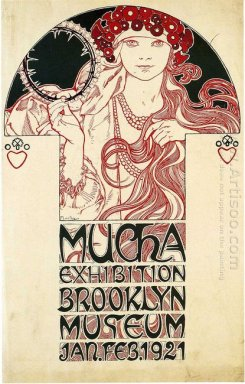 poster for the brooklyn exhibition 1921