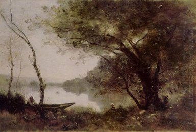 The Boatmen Of Mortefontaine 1870