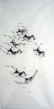 Shrimp - Chinese Painting