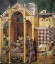 Apparition To Fra Agostino And To Bishop Guido Of Arezzo 1300