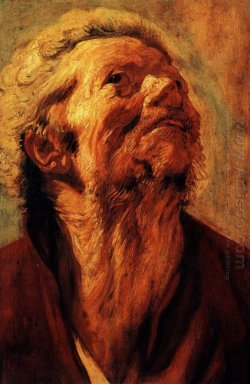 Study Of The Head Of Abraham Grapheus 1621