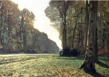The Pave De Chailly In The Forest