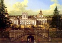 Wilanów Palace Seen From The Garden 1776