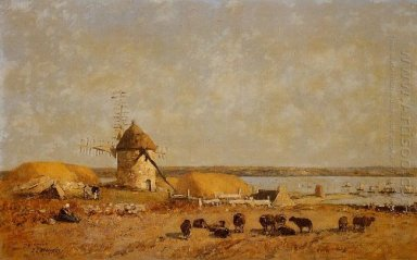 View From The Camaret Heights 1873