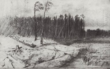 forest near the water 1872