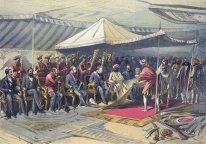 Return visit of the Viceroy to the Maharaja of Cashmere