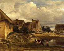 A Farmyard Near Fontainebleau