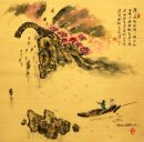 Memancing Man-Chinese Painting