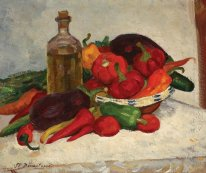 Still Life with Ripe Vegetables