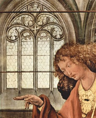 The Annunciation Detail 1