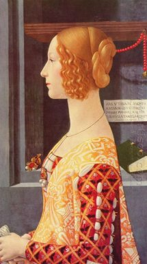 Portrait Of Giovanna Tornabuoni 1490