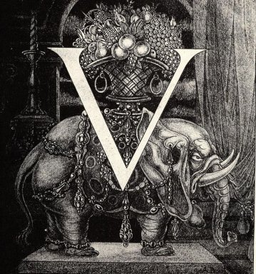 initial letter v to volpone 1898