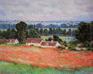 Poppy Field At Giverny
