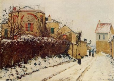 the street of the citadelle pontoise 1873