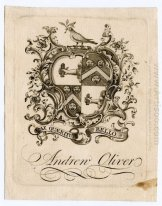 Andrew Oliver Bookplate
