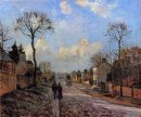 a road in louveciennes 1872