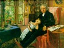 James Wyatt And His Granddaughter Mary