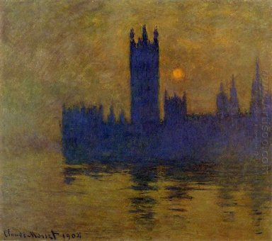 Houses Of Parliament Sunset 02