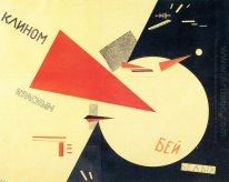 Beat The Whites With The Red Wedge 1920