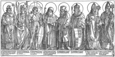 the austrian saints 1517