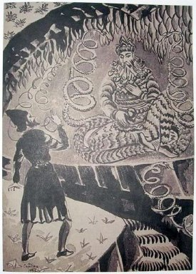Illustration To Armenian Folk Tales 1937 5