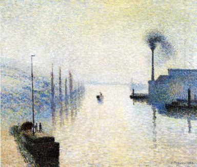 ile lacruix rouen effect of fog 1888