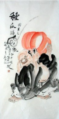Pumpkin-deserve - Chinese Painting