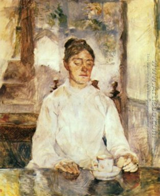 Portrait of Comtesse Adele-Zoe de Toulouse-Lautrec (The Artist\'s